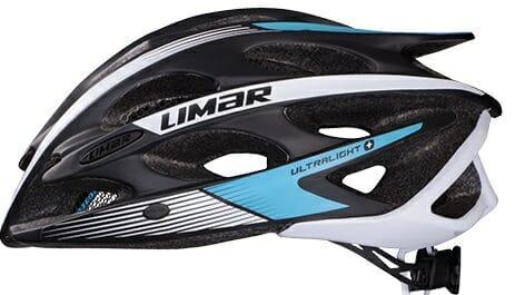 Limar med verdens letteste hjelm.