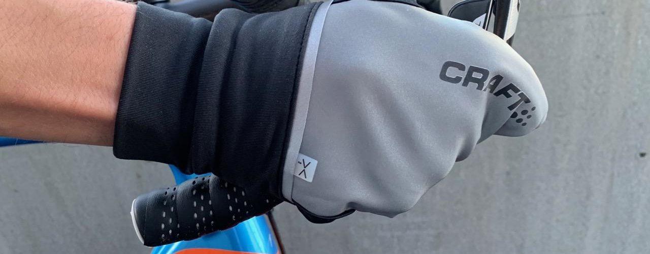 Test av Craft Hybrid Weather hansker