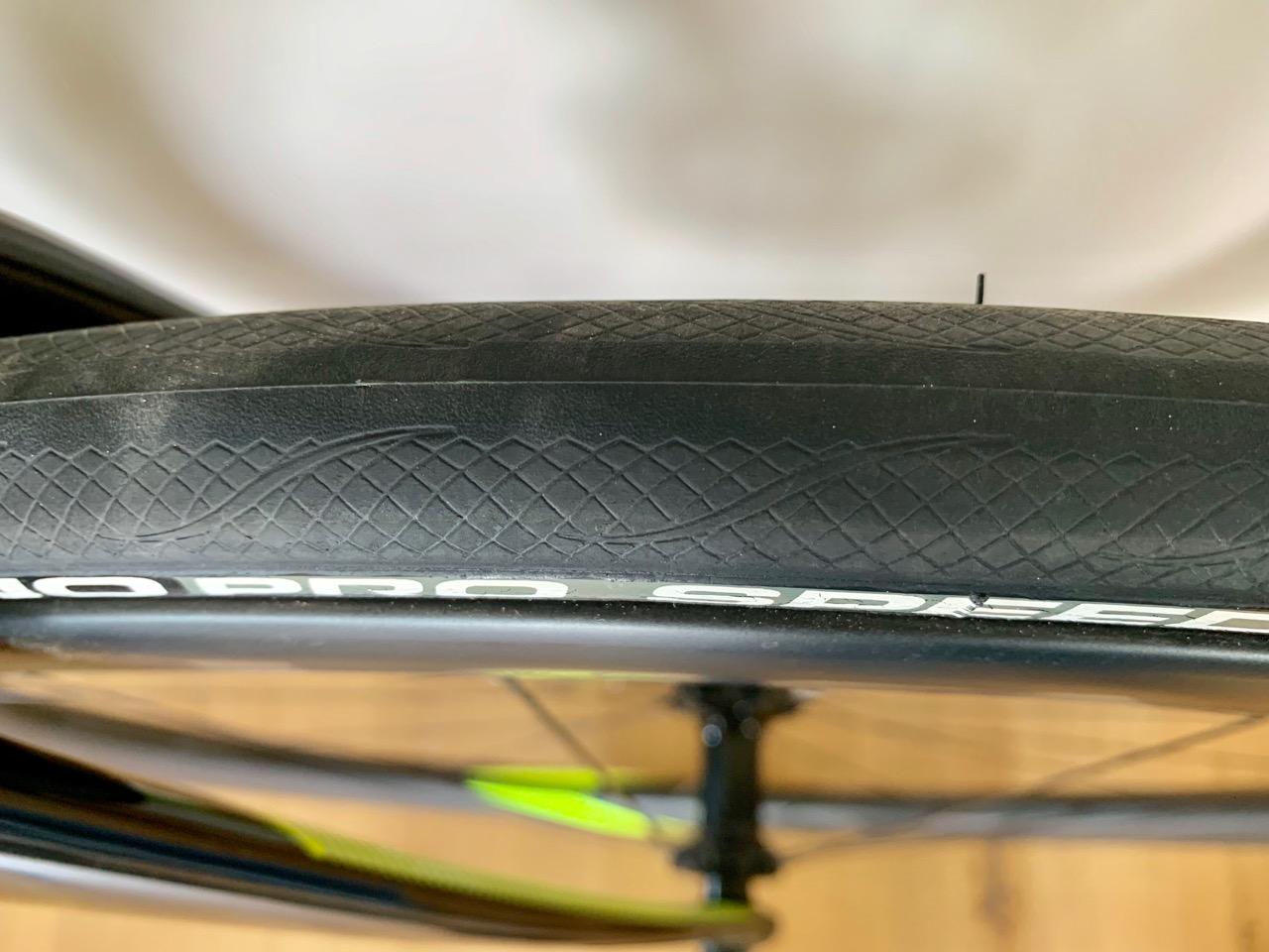 Cannondale SystemSix 2019 dekk test Sykkelen.no