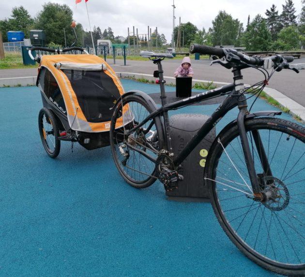 Tips til deg som skal på tur med barn i sykkelvogn